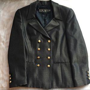 Escada silk wool blend blazer 36 (6)